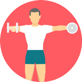Fitness Coach | Gym Exercises and Diet Plans icon
