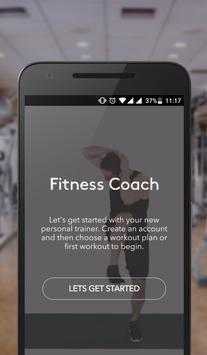 Fitness Coach | Gym Exercises and Diet Plans poster