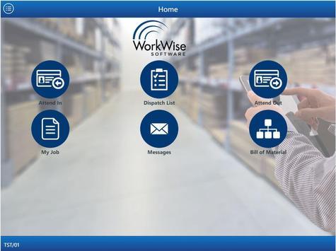 WorkWise ERP apk screenshot