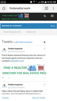 Find A Realtor Directory poster