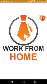 Work From Home poster