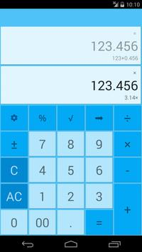 Dual Display Calculator apk screenshot