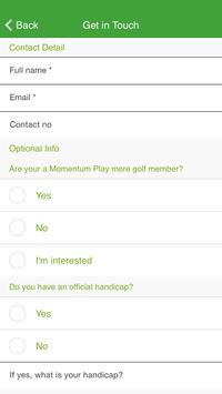 Cape Amateur Golfers screenshot 3