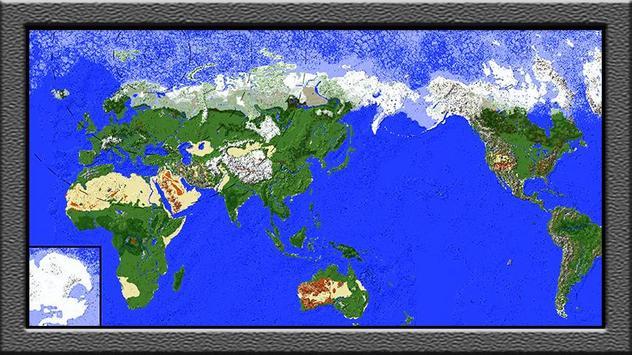World map for minecraft pe descarga apk gratis entretenimiento world map for minecraft pe poster world map for minecraft pe captura de pantalla de la apk gumiabroncs Gallery