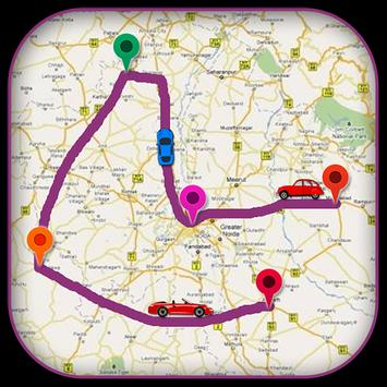 GPS Driving Route Finder apk screenshot