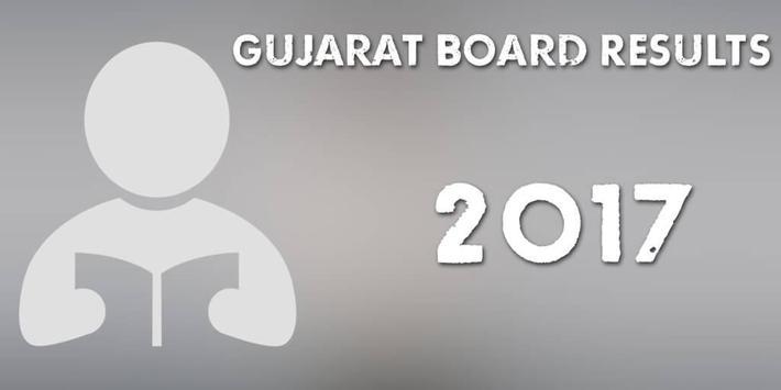 Gujarat Board Results 2017 poster
