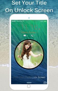 OS9 Photo Lock Screen : Slide screenshot 4