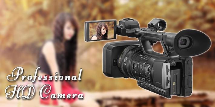 Professional HD Camera poster