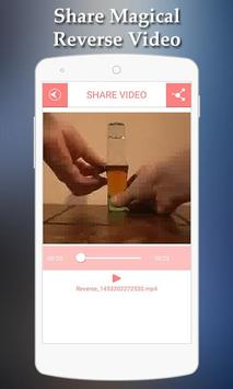 Magical Video Reverse apk screenshot