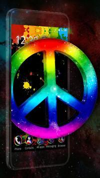 World War Peace 3D Theme poster