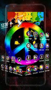 World War Peace 3D Theme screenshot 1