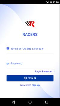 RACERS poster