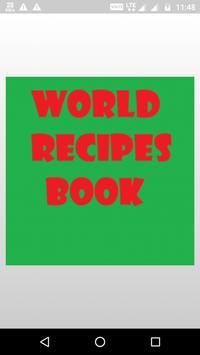 World Recipes - Free poster