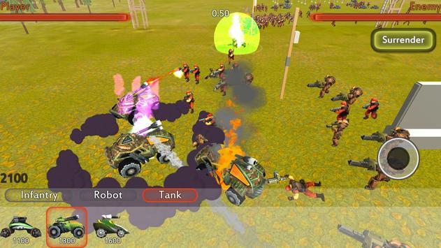 विश्व युद्ध III यूरो बैटल्स-World War 3 III Battle स्क्रीनशॉट 4