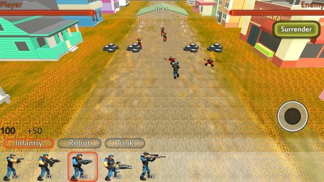 विश्व युद्ध III यूरो बैटल्स-World War 3 III Battle स्क्रीनशॉट 9