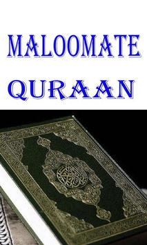 Maloomat e Quraan Urdu poster