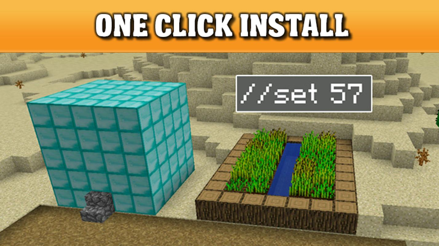 world edit mod for mcpe for android apk download