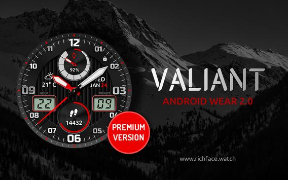 Watch Face Valiant screenshot 1