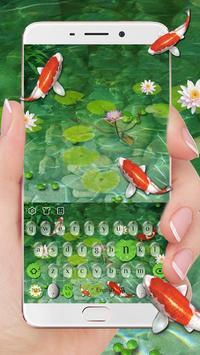 Water Garden Keyboard Theme poster