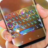 Drop Keyboard Water Bubble Theme Colorful icon