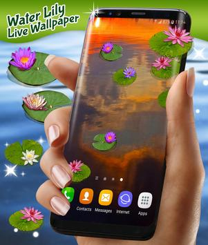 Water Lily Live Wallpaper screenshot 3