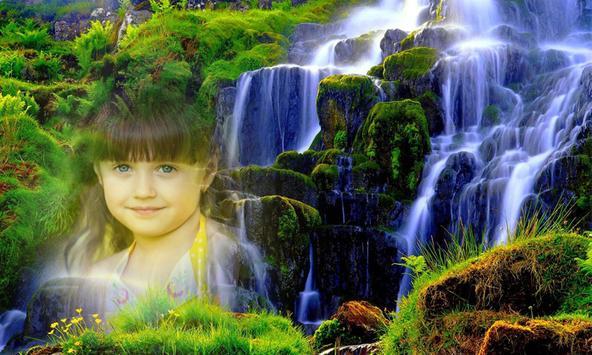 Photo Frame on Waterfall screenshot 4