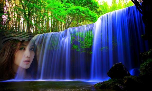 Photo Frame on Waterfall screenshot 1