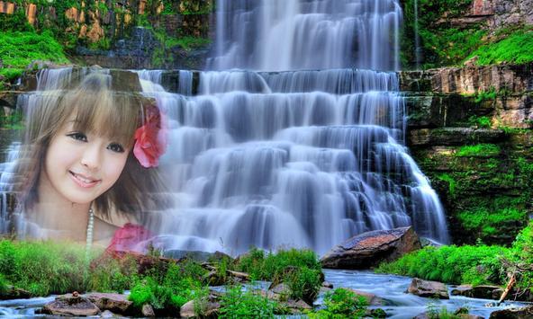 Photo Frame on Waterfall apk screenshot