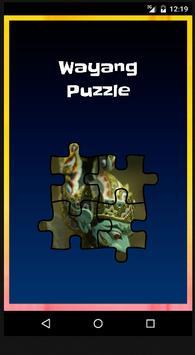Wayang Puzzle poster