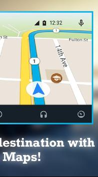 Guide for Android Auto Maps GPS- Android Auto tips screenshot 9