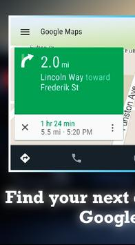 Guide for Android Auto Maps GPS- Android Auto tips poster