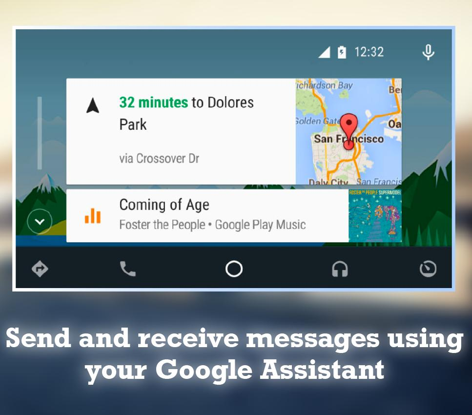 Guide For Android Auto Maps Media Messaging Voice for Android - APK
