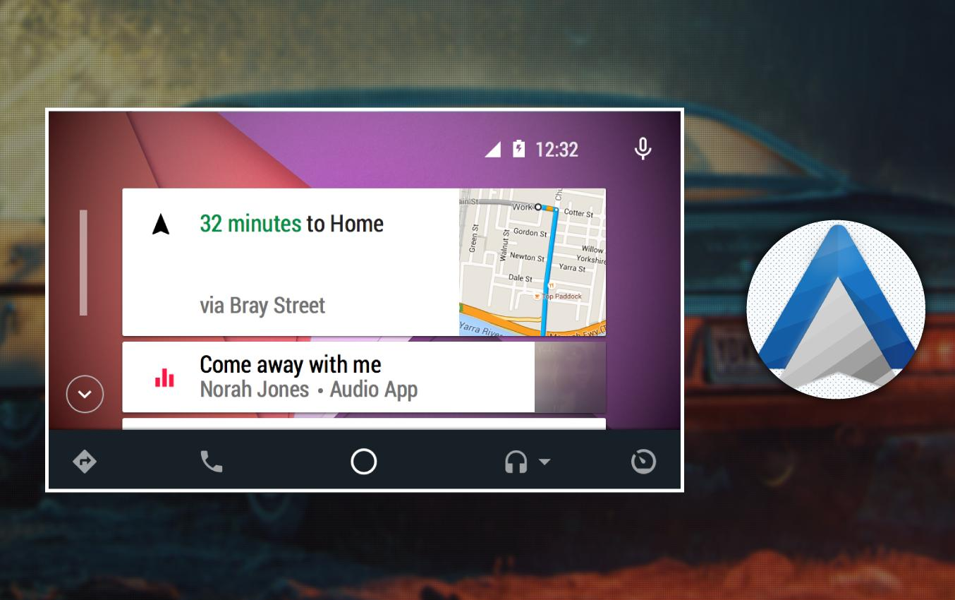 Guide for Android Auto Maps Media Voice Messaging for Android - APK