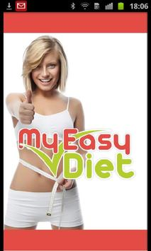 My Easy Diet – Weight Loss app poster