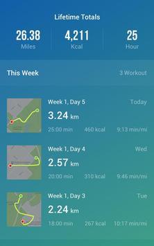 المشي لخسارة الوزن - متتبّع المشي تصوير الشاشة 14