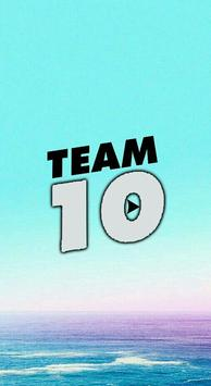 Team 10 Wallpapers HD poster