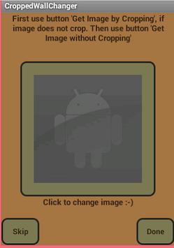 CroppedWallChanger apk screenshot