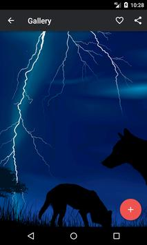Thunderstorm Wallpaper poster