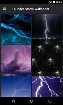 Thunderstorm Wallpaper screenshot 2