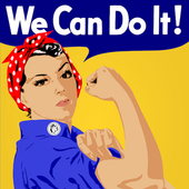 Feminist Wallpapers - Woman Yellow Wallpaper HD icon