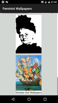 Feminist Wallpapers - Woman Yellow Wallpaper HD screenshot 3