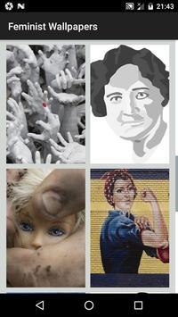 Feminist Wallpapers - Woman Yellow Wallpaper HD screenshot 2