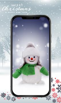 Cute Snowman Wallpaper HD poster