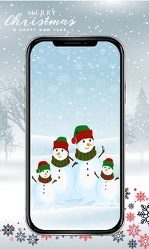 Cute Snowman Wallpaper HD screenshot 1