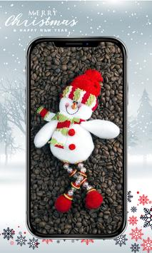 Cute Snowman Wallpaper HD screenshot 2