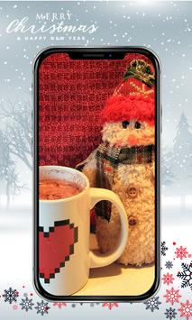 Cute Snowman Wallpaper HD screenshot 3