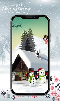 Cute Snowman Wallpaper HD screenshot 4