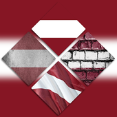 Latvia Flag Wallpapers icon