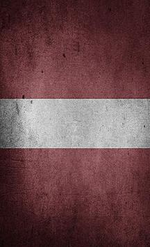 Latvia Flag Wallpapers poster