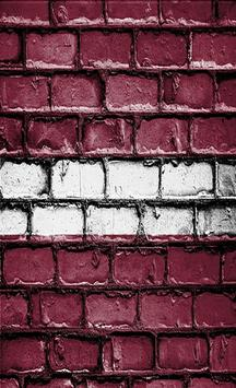 Latvia Flag Wallpapers screenshot 1